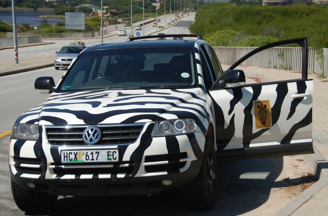 Dyt Dyt - Når du ankommer til lufthavnen i Sydafrika, kan du forvente at blive hente i denne flotte bil