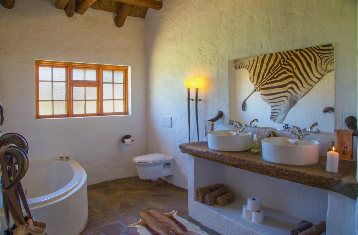Eget badeværelse med spa bad