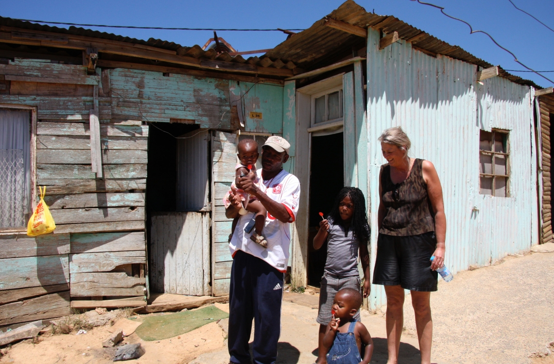 De indfødte i Sydafrika