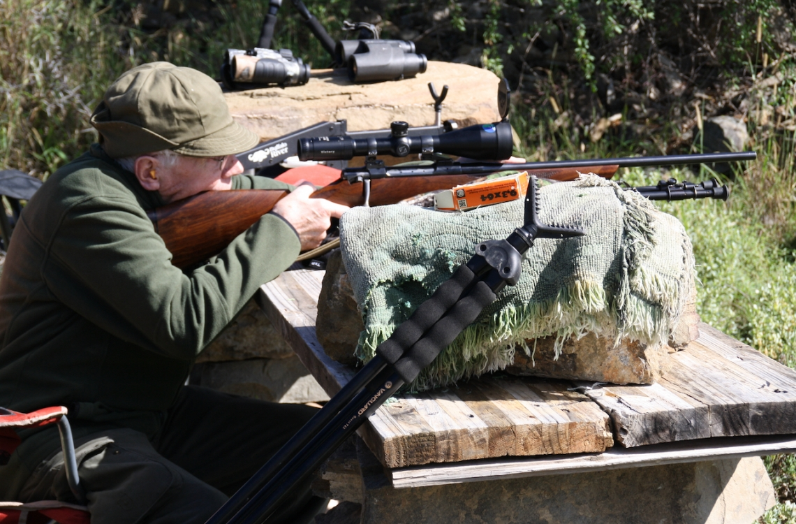Skydetræning inden jagt