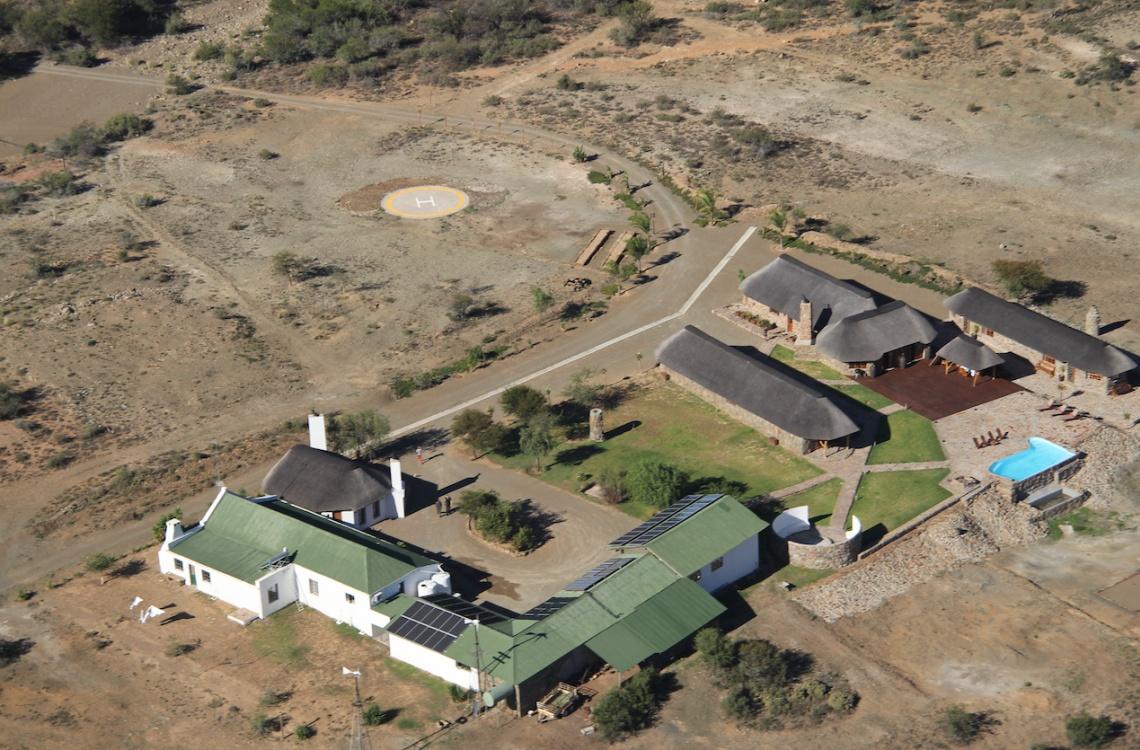 Malpepo farmen set fra oven