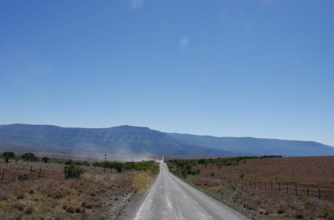 Vejen til Malpepo gennem Sydafrikansk terræn